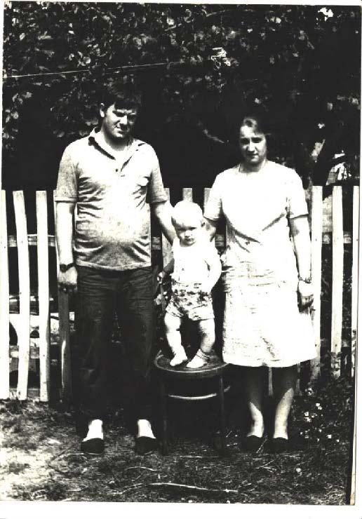 З двохрічним сином і дружиною на відпочинку в бабушки