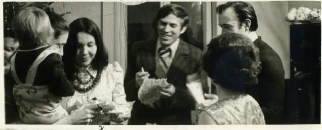 09_Зустріч Нового року у родинному колі 1981 рік