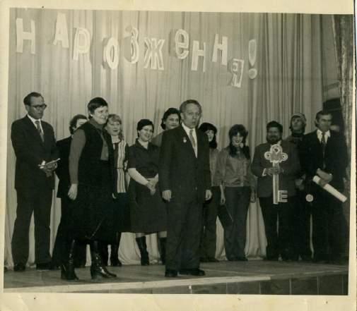 09_1980 День народження театру ляльок. Справа наліво_М.П. Забродін